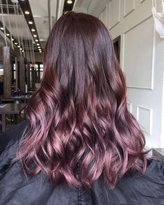 """1,066 Likes, 14 Comments - Number76® Hair Salon (@number_76) on Instagram: """"Ultra glossy, ultra lush ✨✨ In beautiful shades of sugary plum by @76_fung. Know a friend who may…"""""""