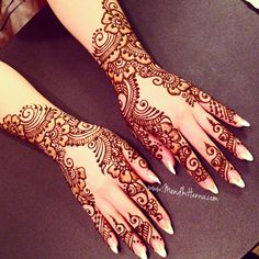 Latest & Fancy Pakistani Mehndi Designs & Trends consists of Asian hottest trends of henna patterns for eid, events, parties, weddings, etc Pakistani Mehndi Designs, Mehndi Designs 2018, Bridal Henna Designs, Henna Designs Easy, Arabic Mehndi Designs, Mehndi Designs For Hands, Mehndi Images, Mehndi Tattoo, Henna Tattoo Designs