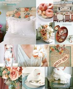 love the colors and vintage feel here