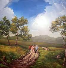 Resultado de imagen para pinturas artisticas de paisajes