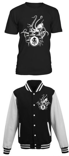 f87071950 T shirt printing business at home octopus drummer t-shirt drum kit t shirt  business blog