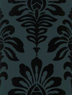 Louis Damask Wallpaper by Brewster. Find this pattern at AmericanBlinds.com.