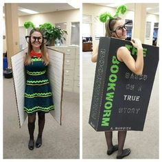 21 Literary Costumes For Hardcore Book-Lovers. Cute costumes and ideas for school teachers and kids! Not just for Halloween - good for Literacy Week or Vocabulary Parade, too! Literary Costumes, Book Costumes, World Book Day Costumes, Diy Costumes, Costume Ideas, Book Fairy Costume, Animal Costumes, Teacher Halloween Costumes, Halloween Kostüm