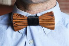 Wooden Bowties! - Read More on One Fab Day http://onefabday.com/two-guys-bow-tie-wooden-bow-ties-for-grooms/