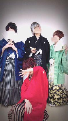 SoraMafu Urasaka (Soraru looks like queen! Every one looks like girl lol xD) Beautiful Voice, Beautiful Boys, Vocaloid, Music In Japanese, Daddy Long, Cover Songs, Original Song, Pink Eyes, Chibi