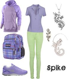 """Spike"" by winterlake25 on Polyvore"