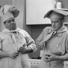 Art carney and Jackie Gleason.  It did not get much better than these two.