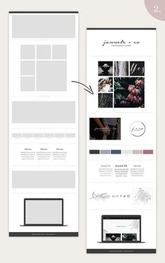 Mood Board Template Bundle - Vol. 1 by amber&ink on Website Design Inspiration, Graphic Design Inspiration, Blog Design, Design Design, Fashion Inspiration, Design Ideas, Photoshop Program, Branding Your Business, Brand Board
