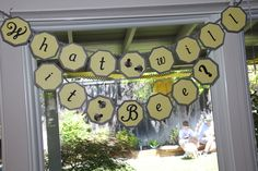 """""""What Will It BEE?"""" gender reveal baby shower"""