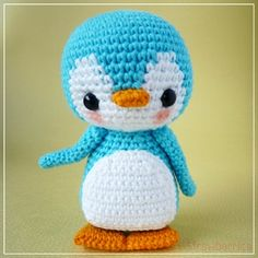 Pen-pen the penguin - amigurumi pattern by Berriiiz
