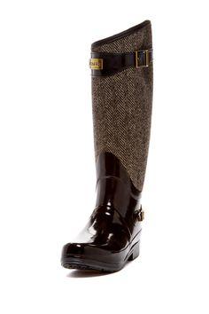 Swanky rain boots: Regent Apsley Knee-High Boot