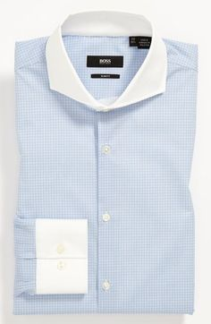 BOSS Black Slim Fit Dress Shirt available at #Nordstrom