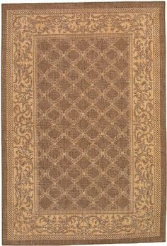 """Couristan Recife Garden Lattice 1016/3000 2'3"""" x 11'9"""" Cocoa / Natural Runner Area Rug by Couristan. $82.00. Recife GARDEN LATTICE 1016/3000 cocoa / natural rug by Couristan Rugs is a machine made rug made from synthetic. It is a 2 x 12 area rug runner in shape. The manufacturer describes the rug as a cocoa / natural 2'3"""" x 11'9"""" area rug. Buy discount rugs with Buy Area Rugs .com SKU rec-gar-102  Also describes as couristan rugs, couristan recife rugs, recife rugs, 2 x..."""