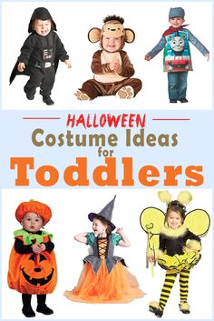 Unique and cute Halloween costume ideas for your toddler! If you're tired of the same old stuff, we've got something new for you!