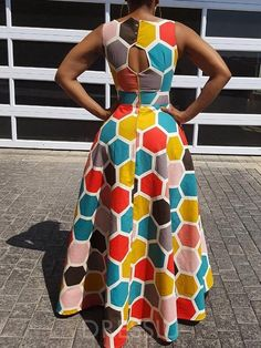 Excellent maxi dresses are available on our web pages. Check it out and you wont be sorry you did. African Dresses For Kids, Latest African Fashion Dresses, African Print Dresses, African Print Fashion, African Clothes, African Attire, African Wear, Estilo Hippie, African Traditional Dresses
