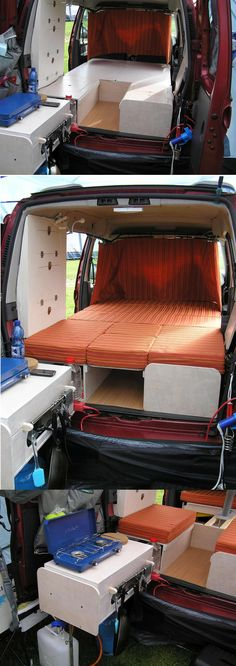 Car Camper Conversion Kit And it has been done Check out the Amdro website to watch a video 1600 x 1200 · 348 kB · jpeg Amdro Jump Boot Thread: Berlingo + Amdro Boot Jump + Quechua Pop. Car Camper, Mini Camper, Camper Life, Camper Trailers, Peugeot Partner, Kangoo Camper, Vw Lt, Minivan Camping, Van Dwelling