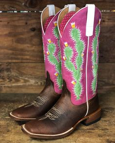 Check out these cactus boots from Macie Bean that just arrived y all! Macie 2e9c3d7c6a36