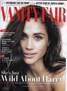 Vanity Fair magazine Meghan Markle Ivanka Trump 60 minutes Jeremy Irons castle