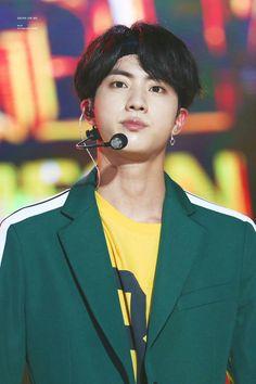 Jin BTS - Inkigayo 24.09.17