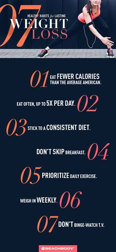 Trying to lose weight? Try adopting these habits to lose weight for success with your weight loss goals.