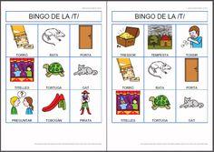 MATERIALS - BINGOS DE LA /B/, /M/, /N/, /F/,/LL/, /C-Ç/, /G/, /R/, /T/, /P/