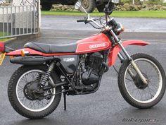 1980 Suzuki SP 400