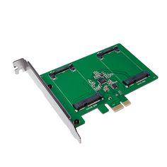 LG-PC0078  Tarjeta PCI-Express, 2x mSATA SSD HD LogiLink