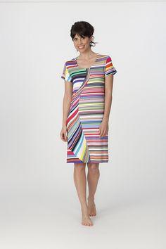 Vestido Egatex multicolor modelo Sailing. http://www.perfumeriaelajuar.com/homewear/vestido-mujer--verano/34/