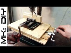 MK: DIY Milling Table for Drill Press - All