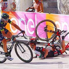 Gorka Izaguirre, Valerio Conti stage 8 Giro 2017 @tdwsport