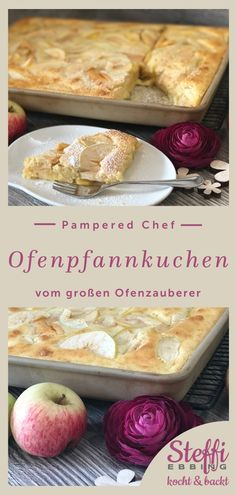 ᐅ Rezept Ofenpfannkuchen ⇒ Ofenzauberer - Pampered Chef Ofenpfannkuchen - Leckeres Pfannkuchenrezept Homemade Breakfast Pizza Recipe, Yummy Pancake Recipe, Healthy Pizza Recipes, Best Keto Pancakes, Low Carb Pancakes, Tasty Pancakes, Oven Pancakes, Sauce Pizza, Easy Gravy