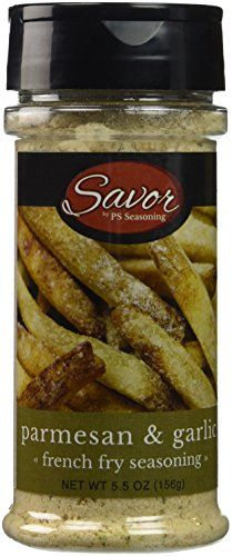 Authentic Savor French Fry Seasoning, Parmesan and Garlic (Pack of 12), ,                                                                                                                                                                                 More