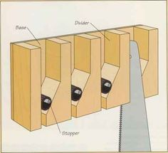 Building a handsaw storage rack - Power Tools - Green Building Central - Building a handsaw storage rack – Power Tools – Green Building Central - Power Tool Storage, Garage Tool Storage, Workshop Storage, Workshop Organization, Garage Tools, Storage Rack, Garage Workbench, Woodworking Power Tools, Woodworking Workshop