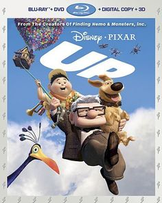 Pixar Klassikko Up - kohti korkeuksia Blu-ray + Blu-ray) Disney Pixar, Disney Blu Ray, Disney Movies, Walt Disney, Disney Family, John Ratzenberger, Up 2009, Blu Ray Movies, Finding Nemo
