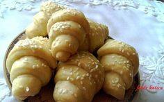 Burgonyás mini kiflik Pretzel Bites, Minion, Ale, Muffin, Potatoes, Bread, Cheese, Vegetables, Cooking