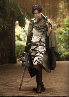 Best Levi cosplay!! cosplayer Reika #attackontitan #levi #cosplay #attackontitancosplay #levicospla