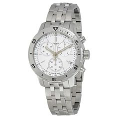 Tissot PRS 200 Silver Dial Stainless Steel Chronograph Men's Watch T067.417.11.031.01