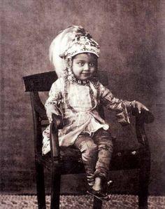 Princess Sultan Jahan (1858-1910) of Bhopal, November 1862 from Young Indian Royal Portraits - Retronaut