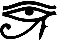 The Eye of Ra Like the Eye of Horus, this is an ancient magical symbol which is often used for protection. The Eye of Ra was painted or carved onto the boats of Egyptian fishermen in order to protect them from evil curses and harm. This symbol was also p Ancient Protection Symbols, Pagan Symbols, Symbols And Meanings, Egyptian Symbols, Ancient Symbols, Ancient Egypt, Protection Symbols Tattoo, Goddess Symbols, Astrological Symbols
