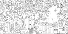 Amazon.fr - Secret Garden: An Inky Treasure Hunt and Coloring Book - Johanna Basford - Livres