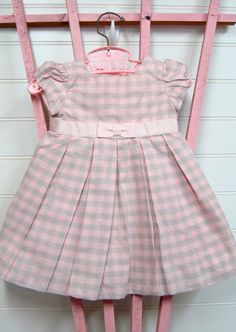 Vintage Baby Clothes Baby Girls Dress by OnceUponADaizy on Etsy, $16.00