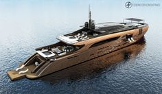 "The 50 meter superyacht ""The Belafonte"" by Federico Fiorentino"