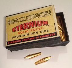 Geo.W.Hughes Eternium nibs