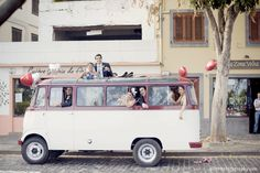 VW bus transport for wedding party and guests? hahaha