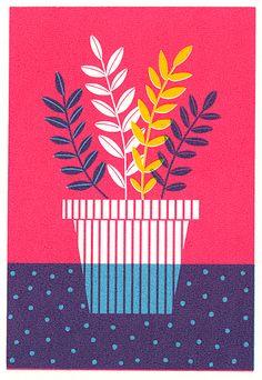 Potted Plants by Boyoun Kim, via Behance