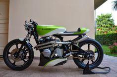 CAFE' RACER CULTURE: Kawa Z550 by Manuele Spadoni