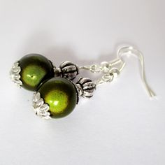 OLIVE...Tibetan Style 3D Illusion Earrings (£4.00)  To order, message me on Facebook (click 'Message' at the top of the Genuine Red Facebook Page) or e-mail thegenuinered@gmail.com
