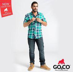 #CamisasGoCo que tienes que tener! Compra en www.gococlothing.com y recibe en cualquier parte de Colombia sin costo de envío. Somos #LaMarcaDelGorila
