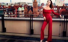 Descargar fondos de pantalla Instyle, 2017, Michelle Dockery, inglés actriz, cantante, belleza