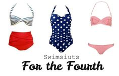 Swimsuits For The Fourth The Fourth of July is time for 3 things: BBQ, fireworks, and swim parties! If you are planning on heading to a party this Fourth, you will want to be rockin' a sweet swimsuit to set you apart from the crowd. Show your personality and style with one of these three stylish...  Read More at http://www.chelseacrockett.com/wp/style/swimsuits-for-the-fourth/.  Tags: #4ThOfJulyFashion, #Fashion, #Gingham, #IndependenceDay, #July4Th, #Style, #Summe